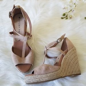 Lucky Brand Larrisa Wedge Sandals